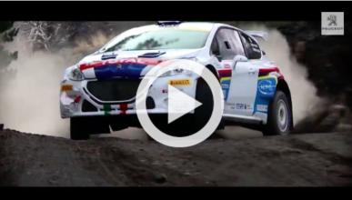 Vídeo: ascenso del Peugeot 208 T16 a la cima del Etna