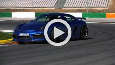 Video: Chris Harris prueba el Porsche Cayman GT4