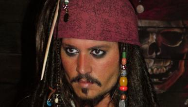 El accidente de Johnny Depp, ¿en una pista de karts?