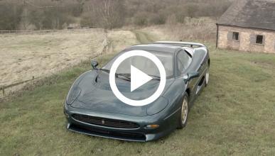 Una vida dedicada al Jaguar XJ220