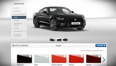 ¡Medio millón de Ford Mustang configurados en la web!