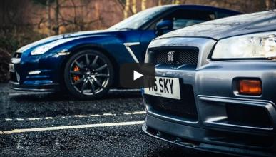 Vídeo: dos generaciones del Nissan GT-R, cara a cara