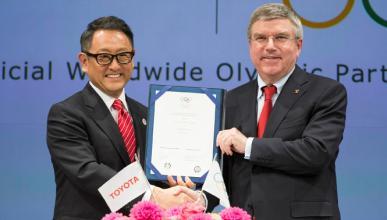 Toyota, socio olímpico del COI hasta 2024
