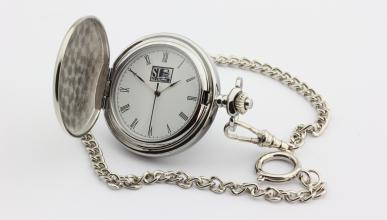 Reloj de bolsillo 69 Pit Stop - reloj con cadena