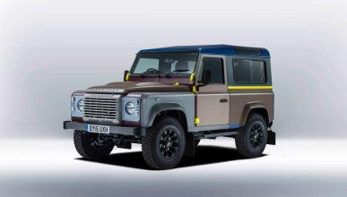 Land Rover Defender de Paul Smith - delantera
