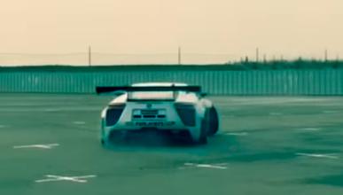 Vídeo: drift con un Lexus LFA con motor V8 de Nascar