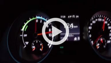 Vídeo: mira y escucha cómo acelera el VW Golf GTE