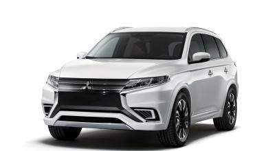 Mitsubishi Outlander 2016 muestra su nueva nariz