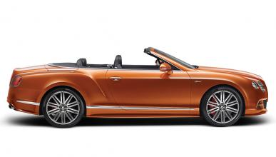Bentley Continental GT Speed Convertible lateral