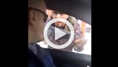 Una pelea de tráfico termina en vídeo viral