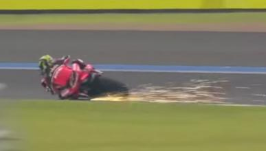 Vídeo: Troy Bayliss está que echa chispas