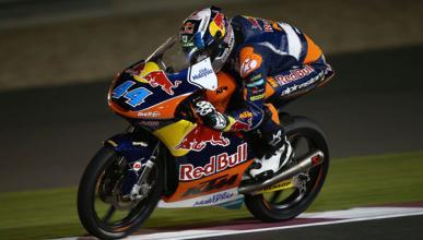 Libres 2 Moto3 GP de Qatar 2015: Oliveira se desquita