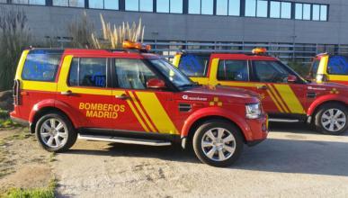 Land Rover Discovery, ¿el nuevo coche de los Bomberos?