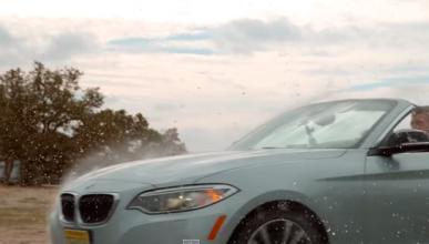 Así es la aerodinámica del BMW Serie 2 a cámara superlenta