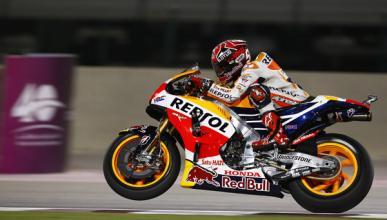 Libres 2 MotoGP GP de Qatar 2015: nadie puede con Márquez
