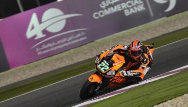 Libres 3 Moto2 GP de Qatar 2015: Lowes sigue de dulce