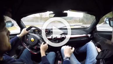 Vídeo 'on-board': Ferrari LaFerrari 'quemando' Nürburgring