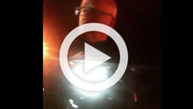 Vídeo: policía rompe la ventanilla para sacar al conductor