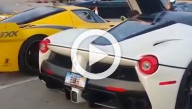 Vídeo: Ferrari LaFerrari y FXX, juntos en Miami…