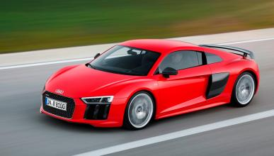 Audi R8 V10 plus delantera