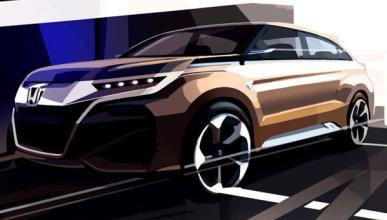 'Teaser' de un concept crossover de Honda para Shanghái