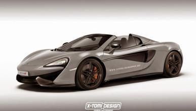 Así podría ser el McLaren 570S Spider