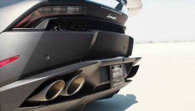 Lamborghini Huracan de GMG Racing tubo de escape