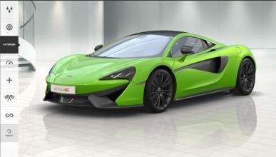 Ya puedes hacer tu configuración del McLaren 570S