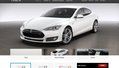 Tesla Model S 70 D, así es el Tesla más barato