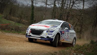 Debut y victoria de Suárez y Carrera en la 208 Rally Cup