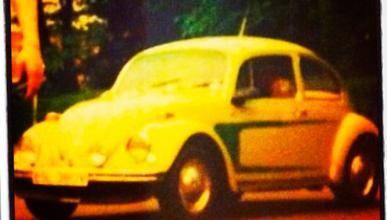 El actor Ewan McGregor busca su antiguo VW Escarabajo
