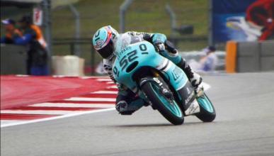 Libres 3 Moto3 GP de Las Américas 2015: Kent marca la pauta