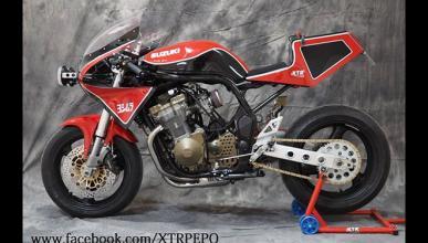XTR Suzuka, una Suzuki Bandit de carreras