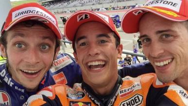 GP de Austin de MotoGP: el selfie de los ganadores