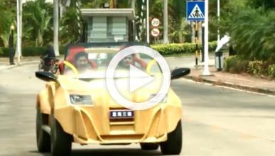El primer coche chino fabricado con una impresora 3D