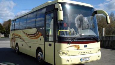Autobuses con cinturón de seguridad podrán ir más rápido