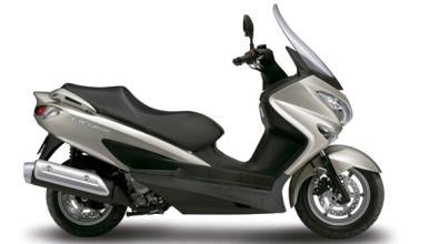 Suzuki Burgman 125 y 200, nuevo color perlado