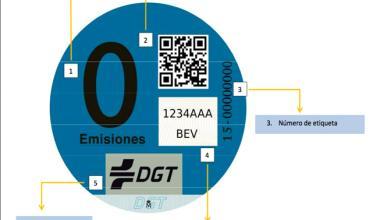 La DGT envía el distintivo de vehículo de cero emisiones