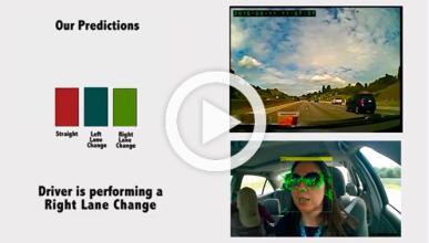 Brain4Cars, un sistema predictivo por reconocimiento facial