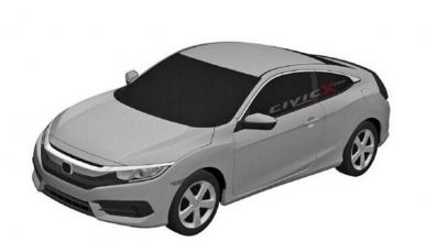 Honda Civic 2016 bocetos