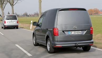 Prueba: prototipo de Volkswagen Caddy 2015 zaga