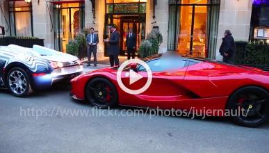 Los problemas de dos ricos con un LaFerrari y un Veyron