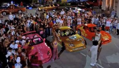 Puro estilo Fast and Furious: 54 coches detenidos en L.A.