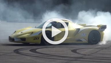 Así suena y derrapa el Ferrari Enzo ZXX de Edo Competition