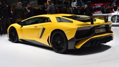 Fabricarán 600 unidades del Lamborghini Aventador SV