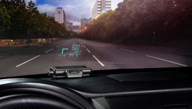 Head up display portátil para tu coche