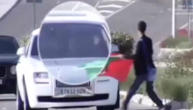 Vídeo: Cristiano no frena ante un aficionado