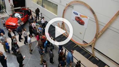 Ford construye el 'loop' de Hot Wheels más grande del mundo