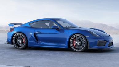 Desvelado el Porsche Cayman GT4 como un coche de juguete