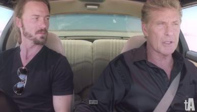David Hasselhoff, de nuevo al volante del Coche Fantástico